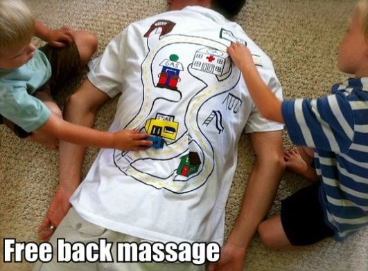 Free-back-massage